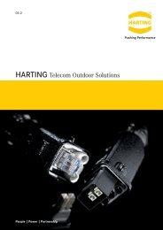 HARTING Telecom Outdoor Solutions