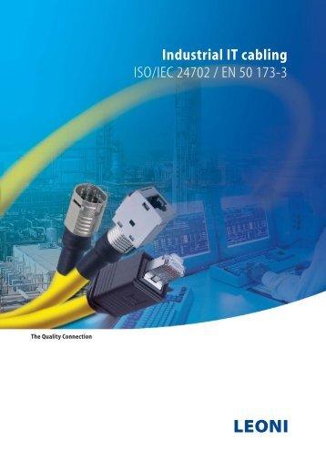 Industrial IT cabling ISO/IEC 24702 / EN 50 - LEONI Infrastructure ...