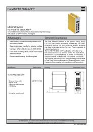 Han® 24 HPR enlarged Ha-VIS FTS 3082-ASFP ... - Acal Technology