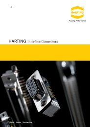 Harting Interface Connectors - Steven Engineering
