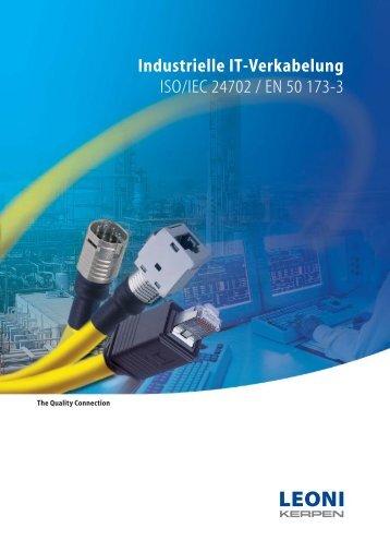 Industrielle IT-Verkabelung - LEONI Infrastructure & Datacom