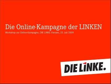 Die Online-Kampagne der LINKEN - Die Linke