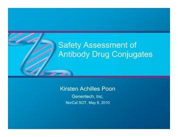 Safety of antibody drug conjugates