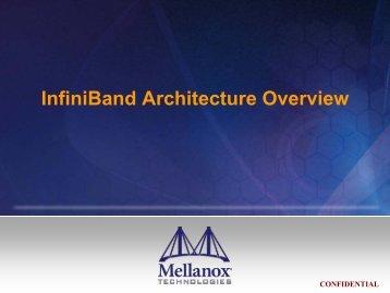 Mellanox InfiniBand Training - HPC Advisory Council