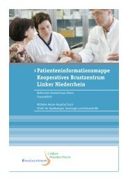 Patienteninformationsmappe Kooperatives Brustzentrum Linker ...