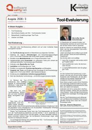 Tool-Evaluierung - Software Quality Lab