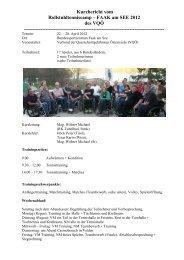 Kurzbericht vom Rollstuhltenniscamp FAAK am See 2012