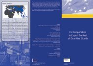 Flyer - EU Cooperation Programme on Dual-Use Export