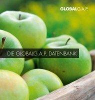 DIE GLOBALG.A.P. DATENBANK - GLOBALG.AP - GlobalGAP