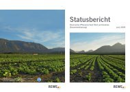 Download der Kurzversion des Statusberichts - REWE Group