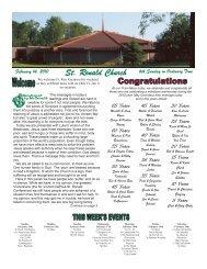 15-0029-St. Ronald, Clinton Twp., MI - St. Ronald Catholic Church