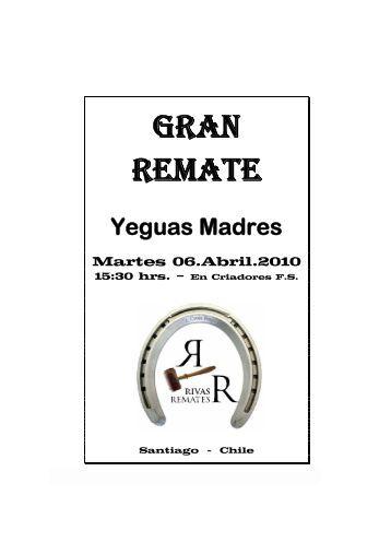 GRAN REMATE - Rivas Remates