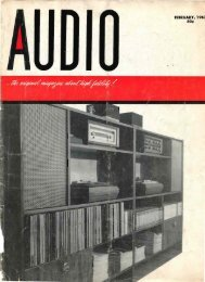 Audio Magazine February 1962 - Vintage Vacuum Audio