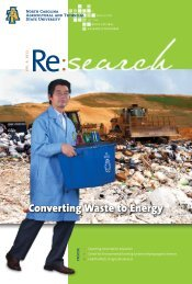 Converting Waste to Energy - North Carolina A&T State University