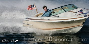 Lancer 20 WOODY EDITION - Chris-Craft Boats
