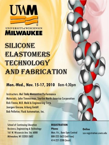 silicone elastomers technology and fabrication - MR Mold ...