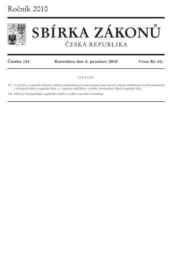 337/2010 Sb. - Ministerstvo vnitra
