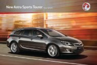 New Astra Sports Tourer Range Highlights - OSV Limited