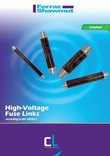 High-Voltage Fuse Links - Fusibles de Occidente