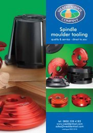 Spindle moulder tooling - FindtheNeedle the UK's Business to ...