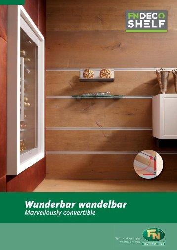 deco shelf-wandregalsystem - koncepta GmbH & Co.KG
