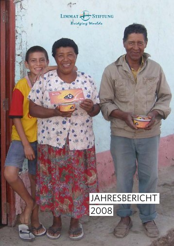 LIMMAT STIFTUNG - JAHRESBERICHT 2008