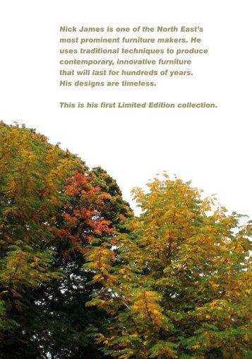 2012 catalogue - Nick James