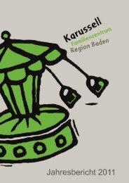 Jahresbericht (PDF, 1 MB) - Karussell Baden