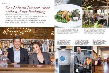 saisonküche_Ausgabe 06_2010 - Restaurant / Bar Salzhaus