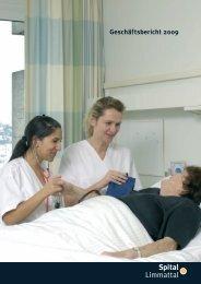 Geschäftsbericht 2009 (PDF, 2,5 MB) - Spital Limmattal