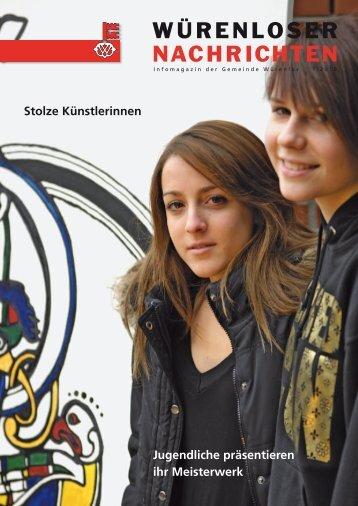 Würenloser Nachrichten 1/2010 - Gemeinde Würenlos