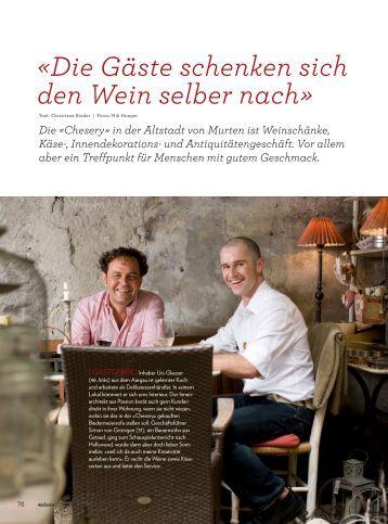«Die Gäste schenken sich den Wein selber nach» - Chesery Murten