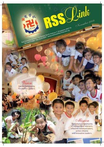 Nov 2009 Edition - Red Swastika School - Ministry of Education