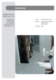 Einlagebl.tter A5 - Abraxas Natursteine AG