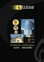 Gas Regulators & Accessories by Novacomet/ Clesse - Newgaz