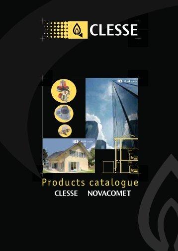Gas Regulators & Accessories by Novacomet/ Clesse - Newgaz