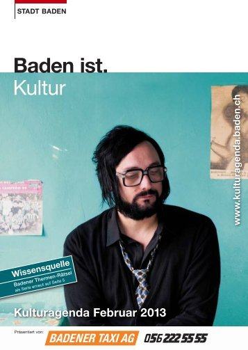 Kulturagenda Februar 2013 - Veranstaltungen - Baden