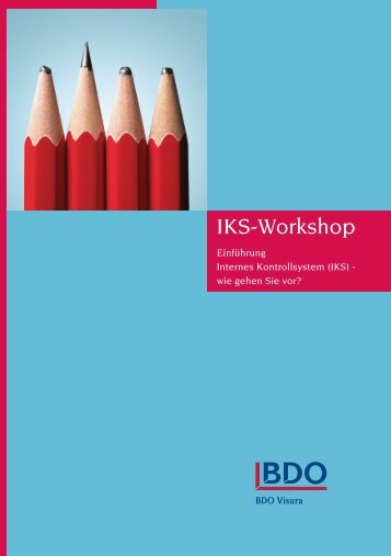 IKS-Workshop - BDO AG