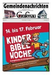Kinderbibelwoche - Evangelische Kirchengemeinde - Grafenau