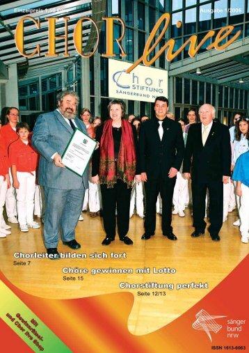 01/2006 - ChorVerband NRW eV