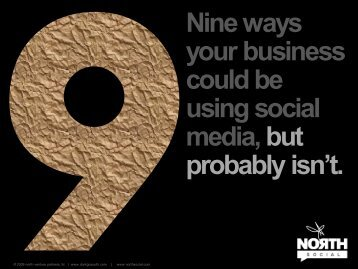 Nine ways your business could be using social ... - Brandchannel