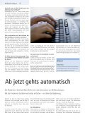 Meiner Philosophie der starken Partner- schaften ... - BVZ Holding - Page 6