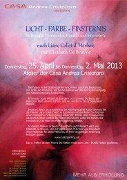 Malkurs mit Elisabeth De Bruyne >> PDF - Casa di Cura