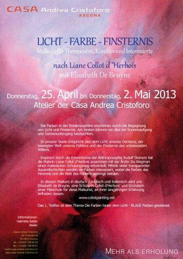 """Malkurs mit Elisabeth De Bruyne >> PDF - Casa di Cura """"Andrea ..."""