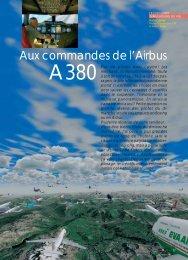 Aux commandes de l'A380 - Magazine Sports et Loisirs