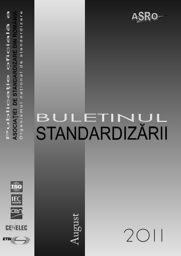 standardizarea naţională - ASRO
