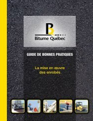 GUIDE DE BONNES PRATIQUES - Bitume Québec