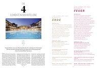 Die elemente in Der Hotellerie ErdE fEuEr - Hotel & Gastro Union