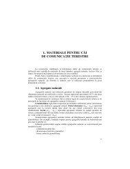 1. Materiale pentru Căi de Comunicație Terestre