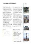 Depp Soil Mixing (DSM) - Keller Fondations Spéciales - Page 3